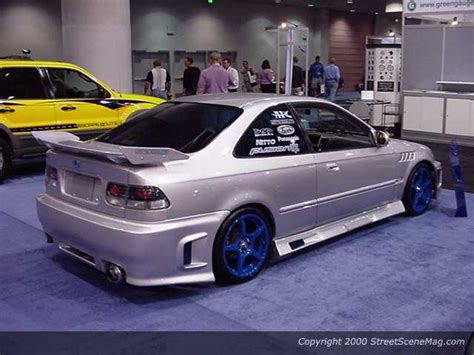 One Tricked Out Honda Civic