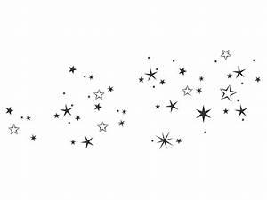 Weihnachtsmotive Schwarz Weiß : wandtattoo sternenhimmel ~ Buech-reservation.com Haus und Dekorationen