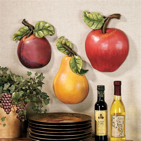 fruit wall accent set