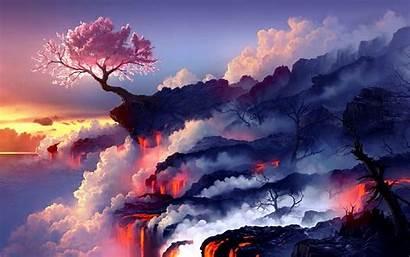 Cherry Blossoms Blossom Wallpapers Desktop Brighten Lovely