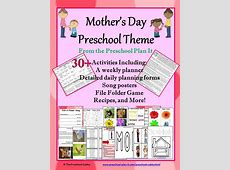 Mothers Day Activities Theme for Preschool