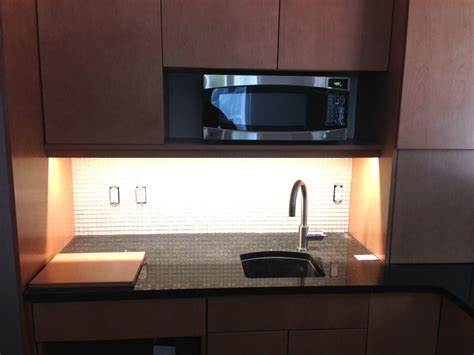 space saver microwave  compact  functional kitchen