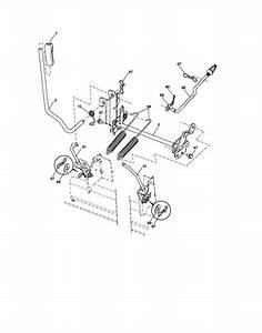 Mower Lift Diagram  U0026 Parts List For Model Yth2348