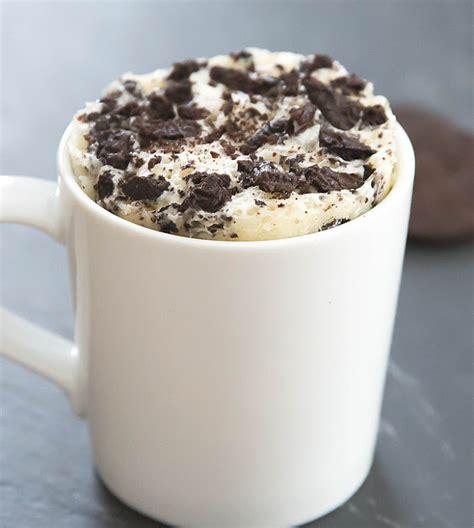 mug cake skinny cookies and cream mug cake kirbie s cravings