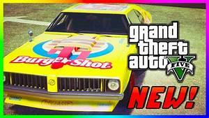 "GTA 5 NEW Rare ""Burgershot Stallion"" - GTA 5 RARE Cars PS4 ..."