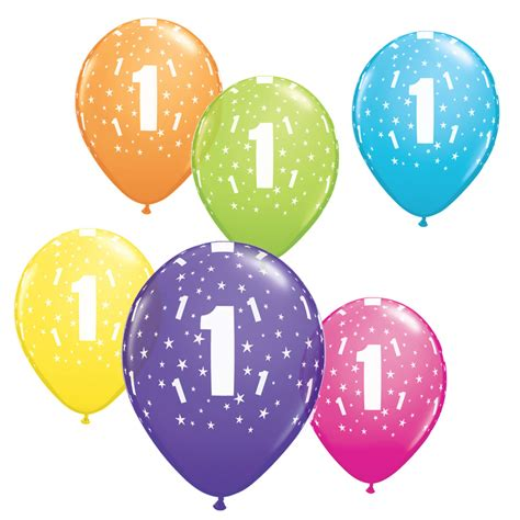Cake Stands On Sale by Age 1 Stars Qualatex Latex Balloons 1st Birthday