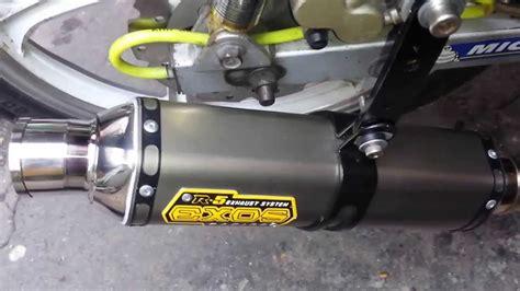 Exos R5 Racing Pipe(suzuki Smash 115)