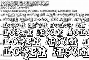 Araleh: Graffiti Font Sketches