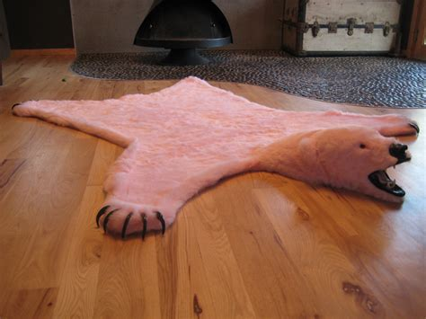 rug perfect faux bear rug   pretty space room