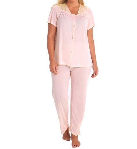 vanity fair clothing vanity fair 90107 coloratura vintage pajama set ebay