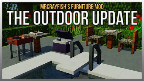 mod installer mrcrayfish s furniture mod the outdoor update showcase Furniture