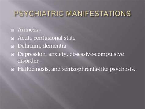 neuropsychiatric manifestations  systematic lupus