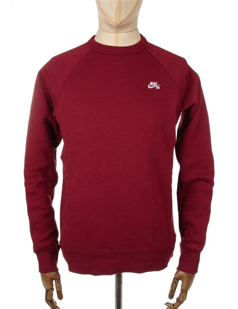 nike sb sweater nike sb icon crewneck sweatshirt team nike sb from