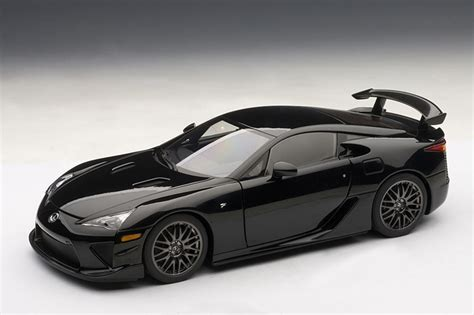 autoart  lexus lfa nurburgring edition glossy black