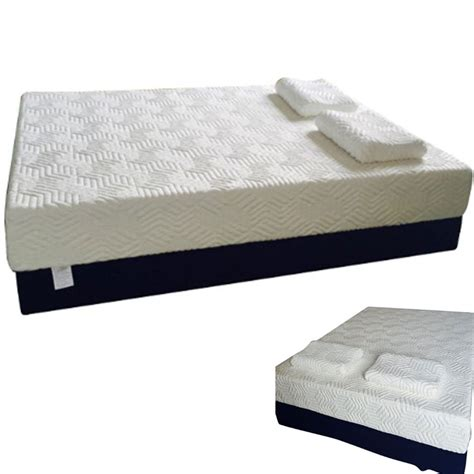 Size Memory Foam Mattress by 8 Quot Size Medium Memory Foam Mattress W 2 Quot Cool