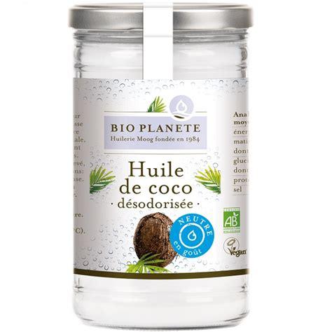mon cahier de cuisine huile de coco désodorisée 1 litre bio planète acheter