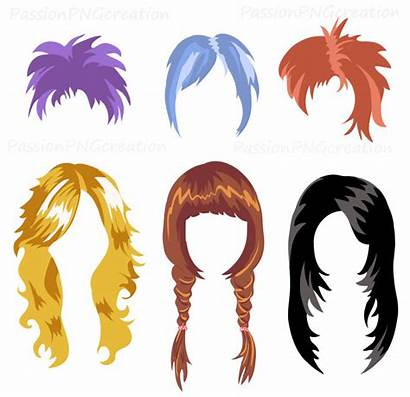 Wig Hair Clipart Wigs Clip Printable Hairstyle