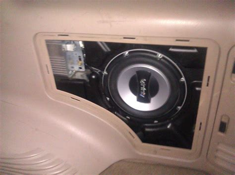 remove rear speakers    ford expedition ford