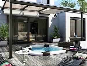 Abri De Terrasse Coulissant : pergola pour terrasse en aluminium sib ~ Dode.kayakingforconservation.com Idées de Décoration