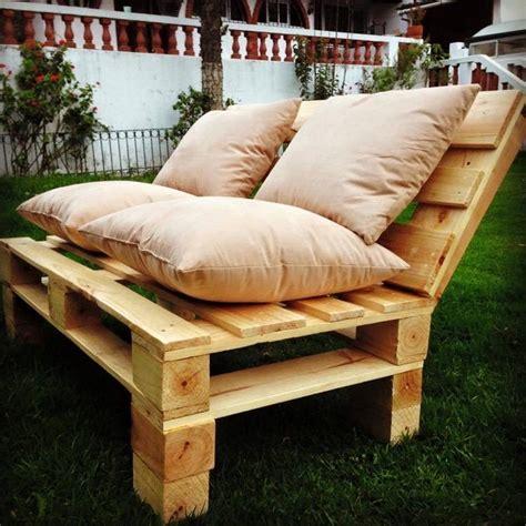fabriquer canap soi meme comment fabriquer un fauteuil en palette pour