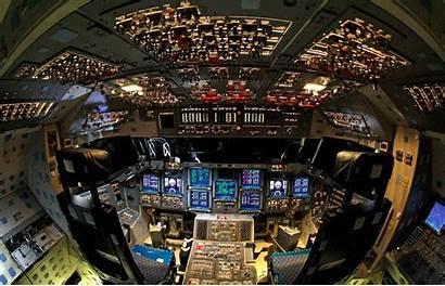 Cockpit Shuttle Endeavour Flight Space Endeavor Silodrome