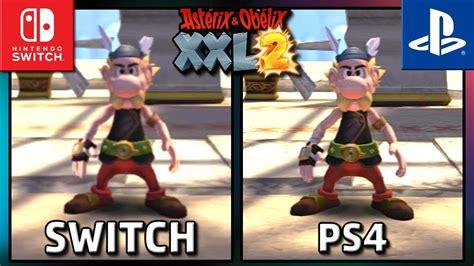 asterix obelix xxl  switch  ps graphics