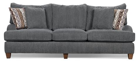 putty chenille sofa grey the brick