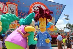Krusty the Clown and Sideshow Bob