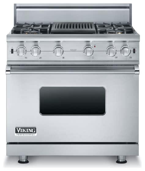 """Viking 36"""" 5 Series Gas Range, Propane Gas, Stainless"""