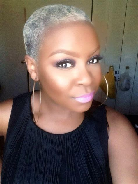 short hairstyles for black women with gray hair 20 best of short hairstyles for black women with gray hair