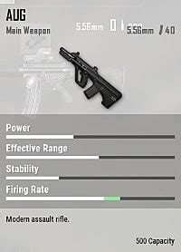 pubg guide aug   rifle stats  attachments list