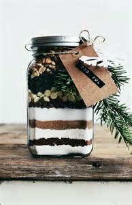 Christmas Brownie Gift Mix in a Jar