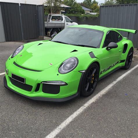 Porsche Gt3 Rs Green by Techart Porsche 991 Gt3 Rs Looks In Green