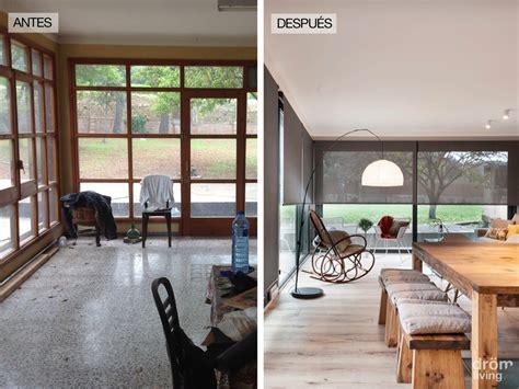 antes  despues transformacion de una antigua casa de