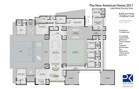 new american floor plans the new american home 2017 professional builder