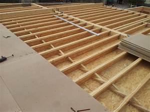 Plancher Bois Etage : plancher tage construction d 39 une maison ossature bois ~ Premium-room.com Idées de Décoration