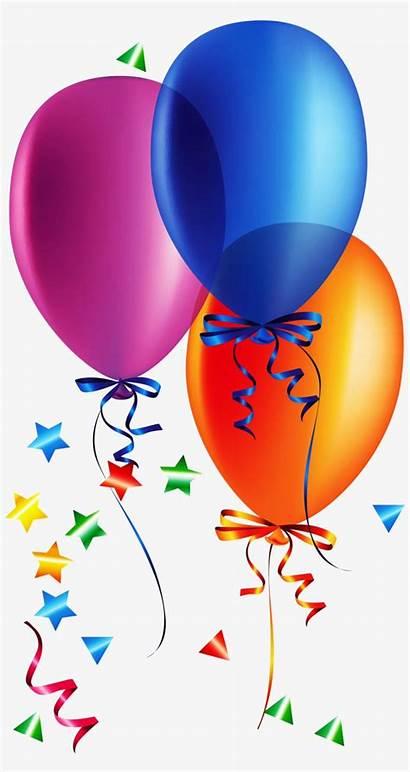 Birthday Happy Clipart Son Balloon Stickers Transparent