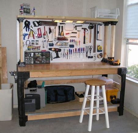 garage work bench pdf diy garage workbench plans ideas g plan