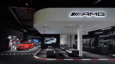 Nissan Showroom In Tokio by Dedicated Mercedes Amg Showroom Opens In Tokyo