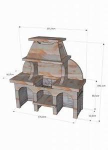 Barbecue En Dur : barbecue en pierre reconstitu e avec grill barbecue en dur ~ Melissatoandfro.com Idées de Décoration