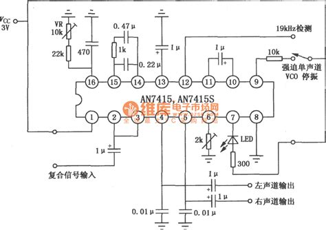 Circuit Stereo Decoder Diagram