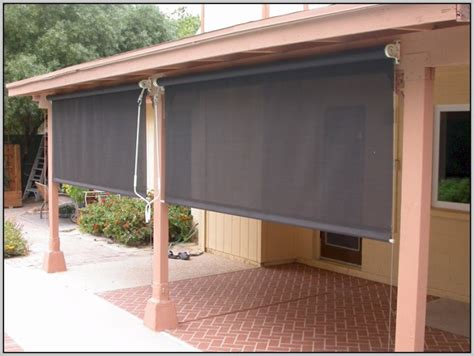 patio blinds home depot outdoor patio shades home depot patios home design