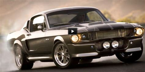 The Best 1967 Shelby Gt500 Eleanor Burnout & Drift Ever