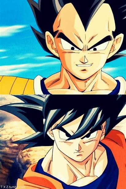 Goku Vegeta Dragon Ball Gifs Vs Kakaroto