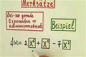 Nullstellen Berechnen Ausklammern : video symmetrie berechnen so klappt 39 s ~ Themetempest.com Abrechnung