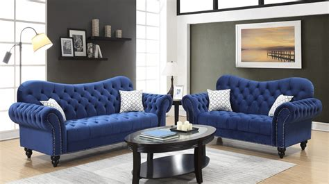 heart blue sofa love  blue living room sets