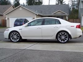 2004 Acura Tl Tire Size by 20x8 0 Wheels