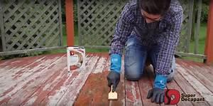 comment decaper une terrasse en bois super decapant With decaper une terrasse en bois
