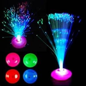 12 abajour neon abajur peteca fibra optica festa