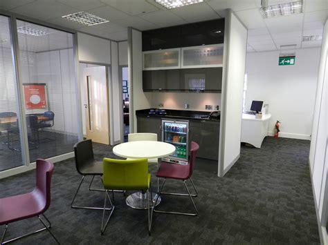 Office breakout area furniture